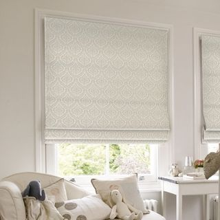 Roman Blind_Kashmir Cream_Roomset
