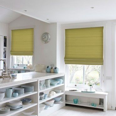 Roman Blind_Lyon Apple_Roomset