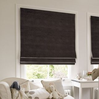 Roman Blind_Lyon Smoke_Roomset
