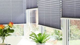 Pleated Blind_Crush Charcoal_Conservatory