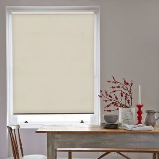 Roller Blind_Flamenco Cream_Roomset