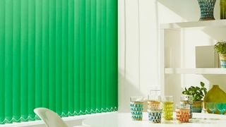 Vertical Blind_Acacia Emerald_Dining Room