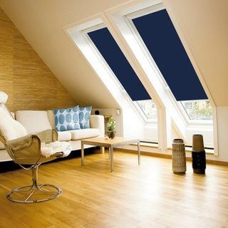 Velux Blind_1100 Blue_Roomset