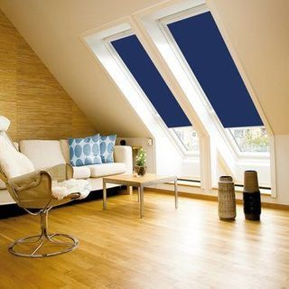 Velux Blind_2055 Blue_Roomset