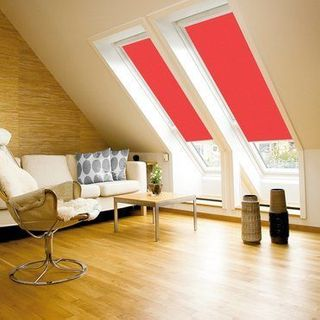 Velux Blind_4159 Bright Red_Roomset