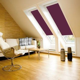 Velux Blind_4561 Dark Purple_Roomset