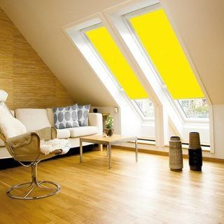 Velux Blind_4570 Bright Yellow_Roomset