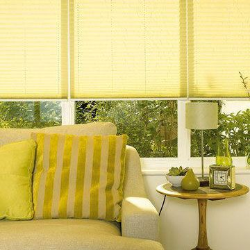 Malbec Primrose Pleated Blind