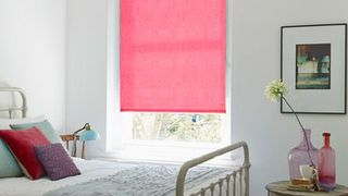 Roller Blind_Ossie Hot Pink_Roomset