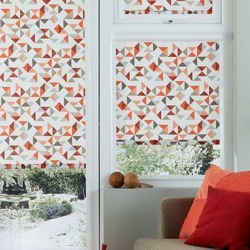 Perfect Fit Roller Blind_Padro Blush_Living Room