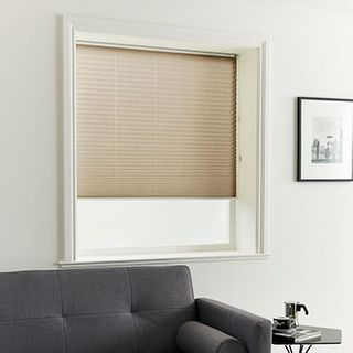 Pleated Blind_Crush Earth_Roomset