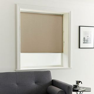 Pleated Blind_Crush Caramel_Roomset