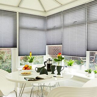 Pleated Blind_Crush Charcoal_Roomset