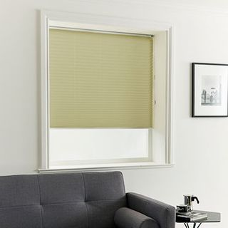 Pleated Blind_Crush Taupe_Roomset