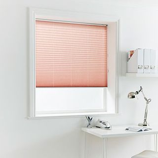 Pleated Blind_Crush Spice_Roomset