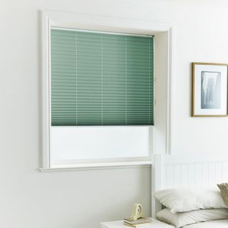 Pleated Blind_Lanbury Teal_Roomset
