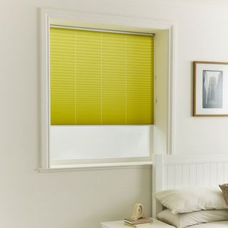 Pleated Blind_Malbec Olive_Roomset