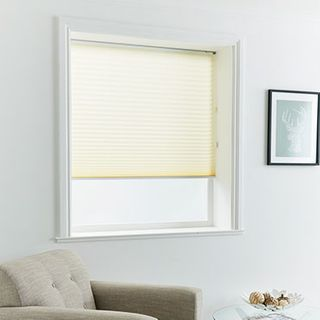 Pleated Blind_Midas Cream_Roomset