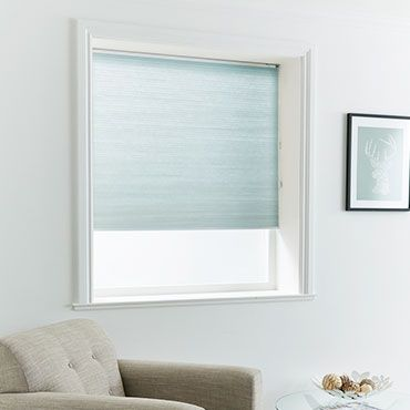 Pleated Blind_Thermashade Azure_Roomset