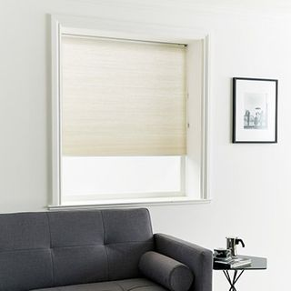 Pleated Blind_Thermashade Natural_Roomset