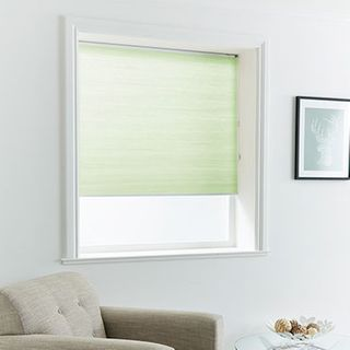 Pleated Blind_Thermashade Mint_Roomset