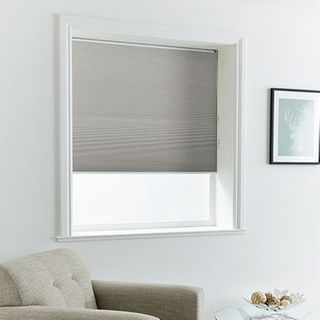Pleated Blind_Thermashade Slate_Roomset