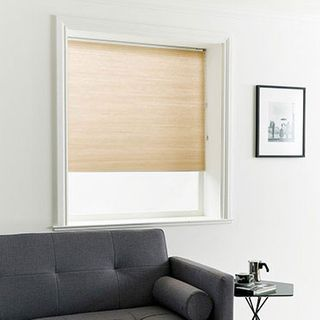 Pleated Blind_Thermashade Sand_Roomset