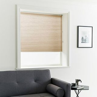 Pleated Blind_Thermashade Stone_Roomset