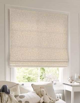 Roman Blind_Alice Ivory_Roomset