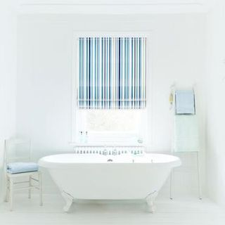 Roman Blind_City Indigo_Roomset