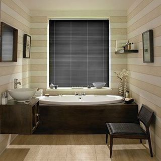 Venetian Blind_Special Finish Barely Black_Roomset