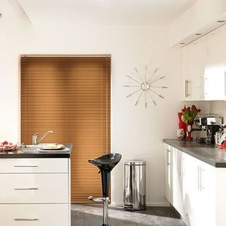 Venetian Blind_Special Finish Gold Copper_Roomset