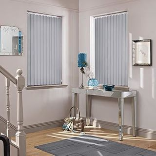 Vertical Blind_Cordova Grey_Roomset