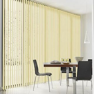Vertical Blind_Janna Beige_Roomset