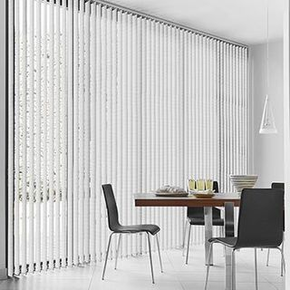 Vertical Blind_Linen Grey_Roomset