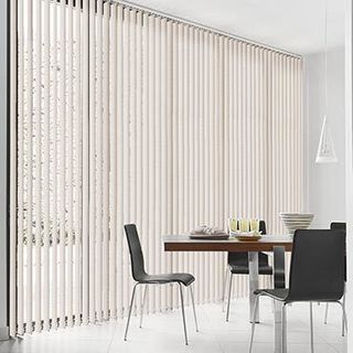 Vertical Blind_Linen Natural_Roomset