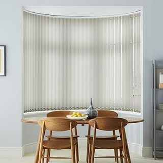 Vertical Blind_Vivre Dove_Roomset