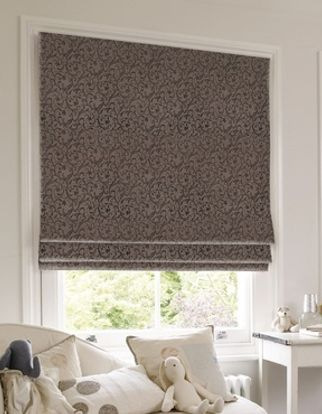 Roman Blind_Alice Jet_Roomset