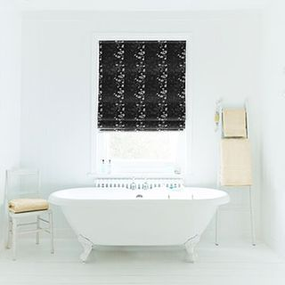 Roman Blind_Stylish Jet_Roomset