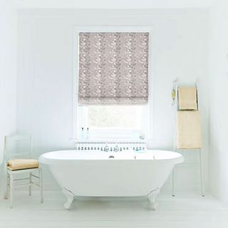Roman Blind_Stylish Silver_Roomset