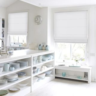 Roman Blind_Tetbury White_Roomset