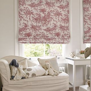 Roman Blind_Toile Cherry_Roomset