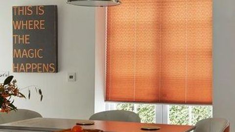 Moreno Rust Pleated Blind