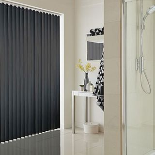 Vertical Blind_Acacia Black_Roomset