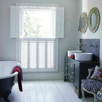 Henley Tier on Tier White Shutters