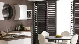 Warwick Tracked Brown Shutters