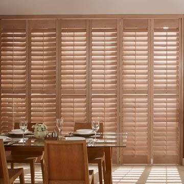 Warwick Full Height Brown Solid Shutters