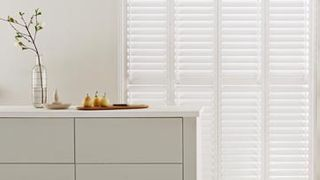 Windsor Full Height White Shutters