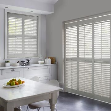 The Stylish Way To Dress Dining Room Windows And Patio Doors