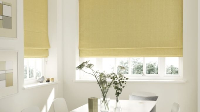 Rain Sunshine Roman Blind dining room.jpg